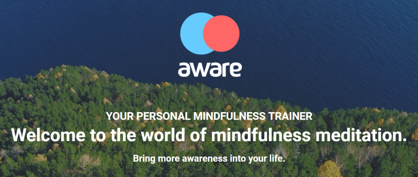 Aware meditation app review - download it now! Mind your Mamma