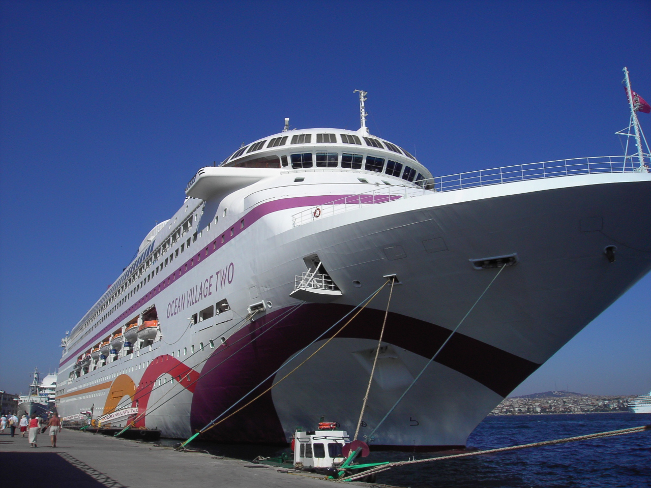 Ocean Village cruise ship